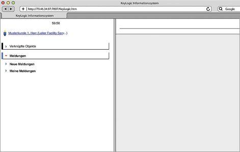 """Screenshot """"Helpdesk-Software"""""""