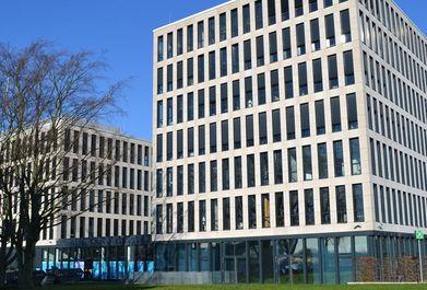 Gebäude: Zweischeibenhaus, Ratingen