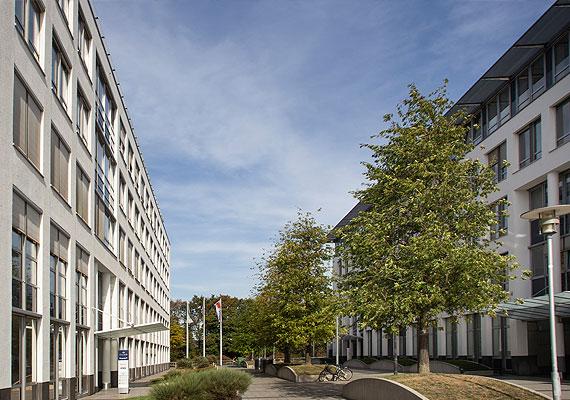 Eingang der fairconcept Firmenzentrale in Düsseldorf